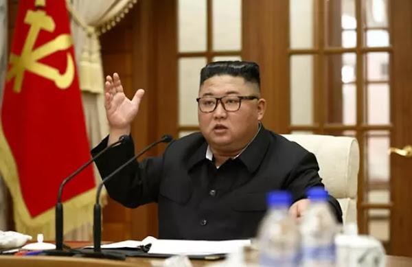 Kim Jong Un at 18th meeting of Political Bureau, September 29, 2020