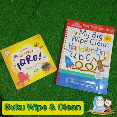 buku wipe and clean murah