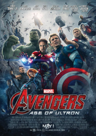 Avengers: Age of Ultron (2015) BRRip 720p Dual Audio