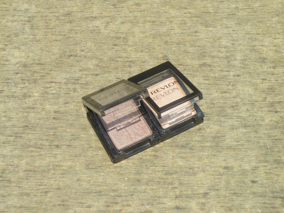 Revlon Shadowlink Eyeshadows in Sand and Taupe Bad