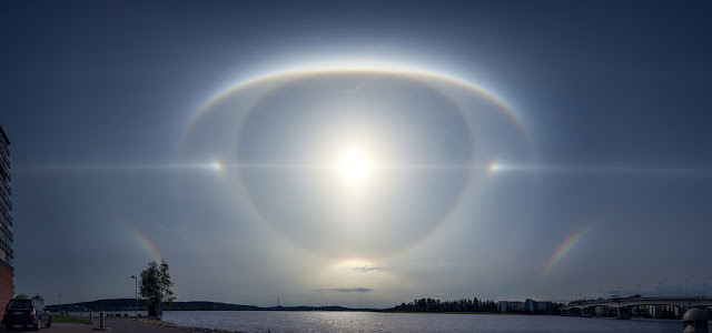 David Wilcock ~ The Day of the Event Sun-halo-finland