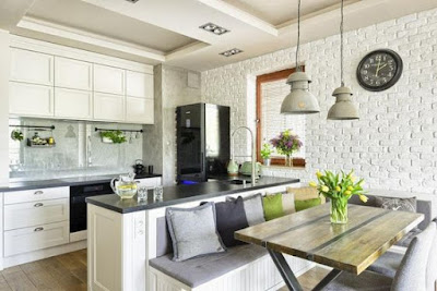 60 Desain Minimalis Dapur dan Ruang Makan
