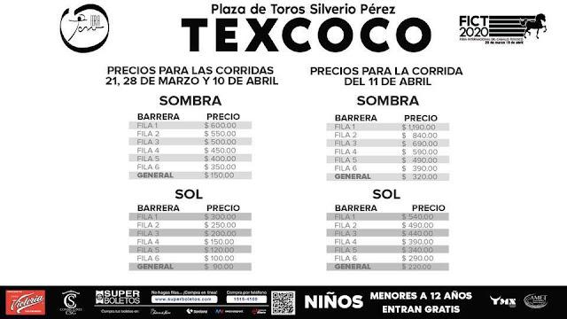 toros feria del caballo texcoco 2020