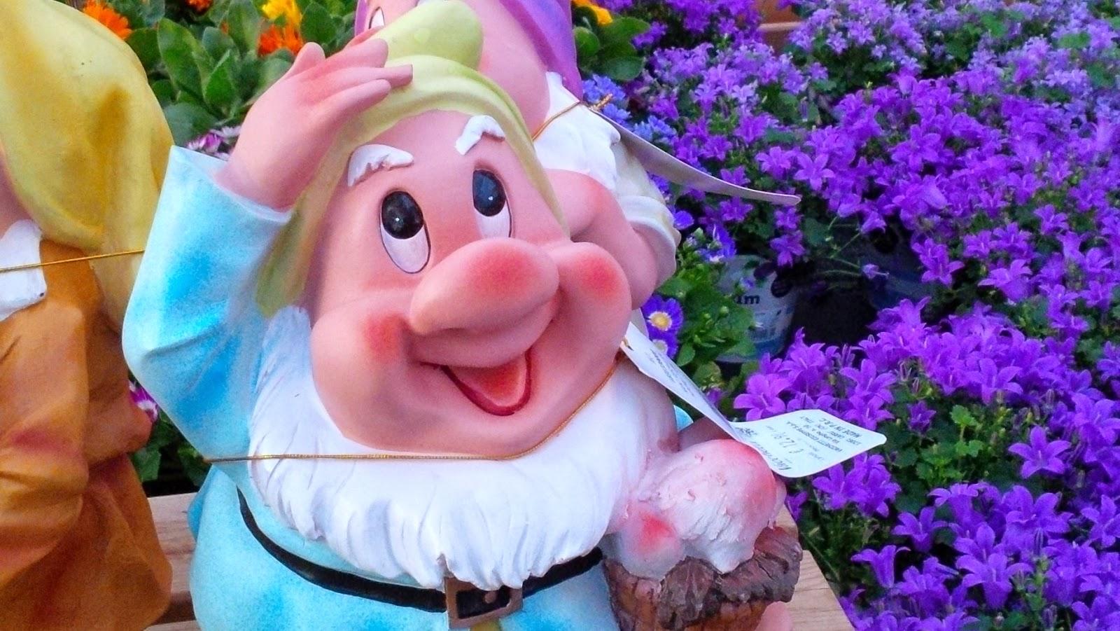 smiling gnome flowers garden centre