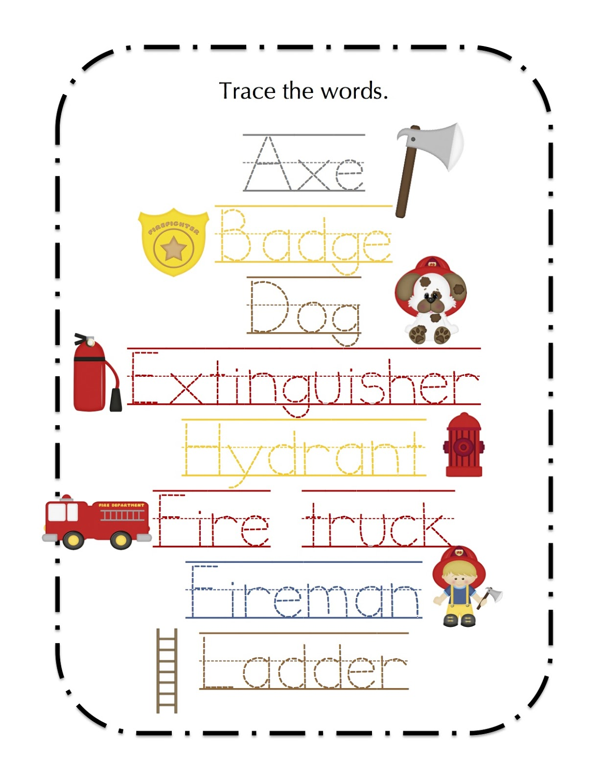 Worksheets Kindergarten And Pictures