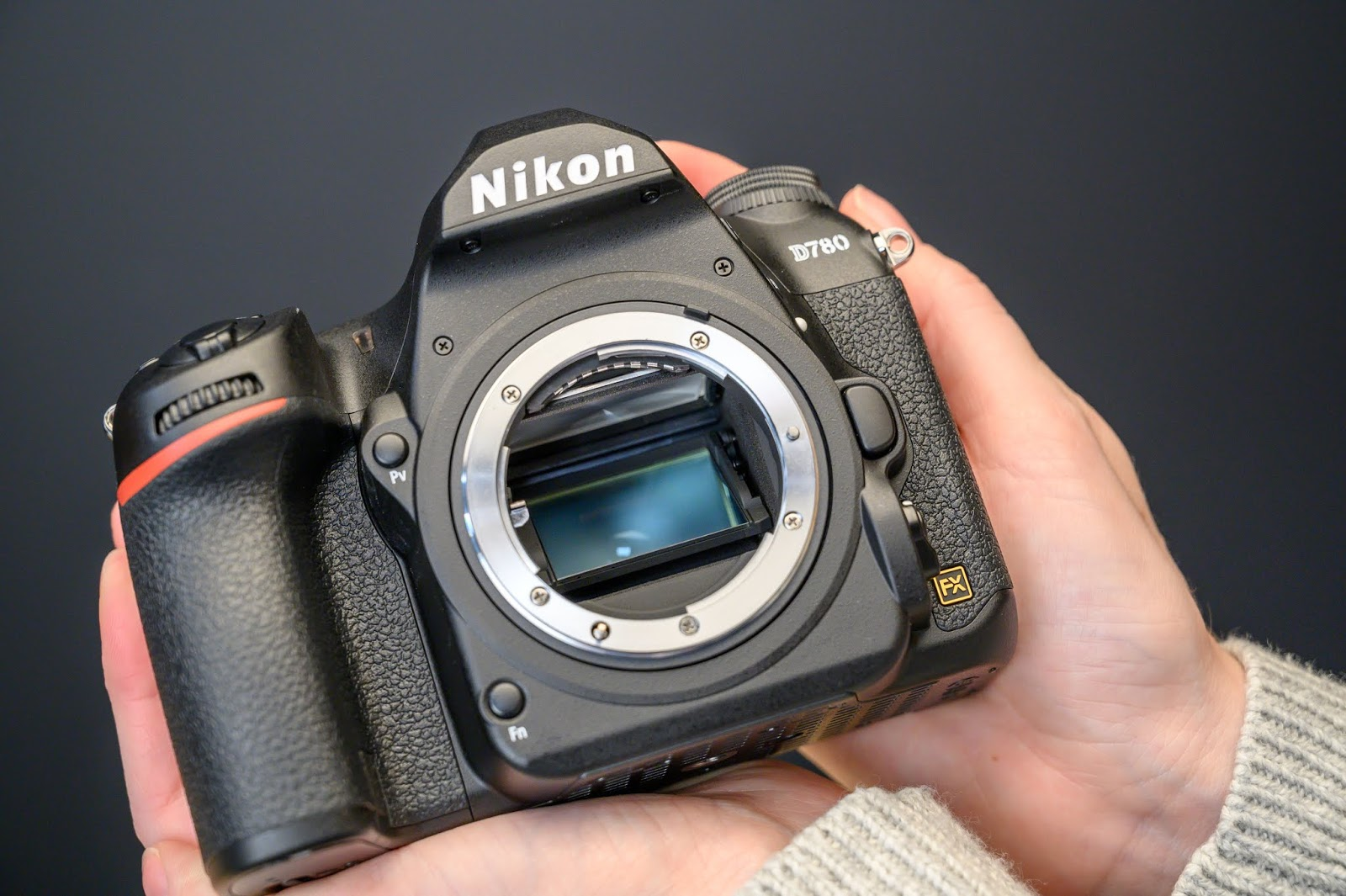 Зеркало в Nikon D780