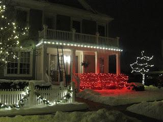 professional Christmas light installers Ann Arbor