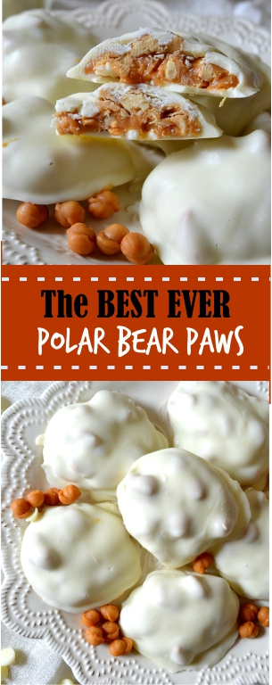 The BEST EVER Polar Bear Paws (See's Candy Copycat)