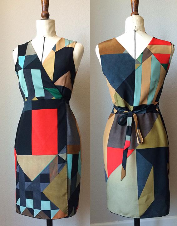 Knit Kit: Kleid aus einem Foulard