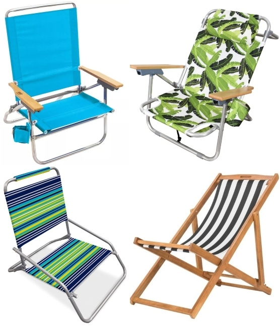 Simple Folding Beach Chairs Light Weight