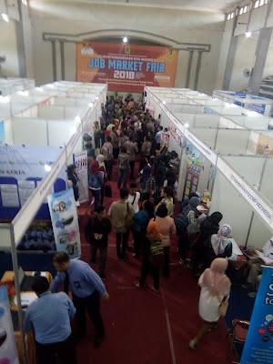 Job Market Fair Sepi Peminat, Begini Kata Kadis Kumnaker