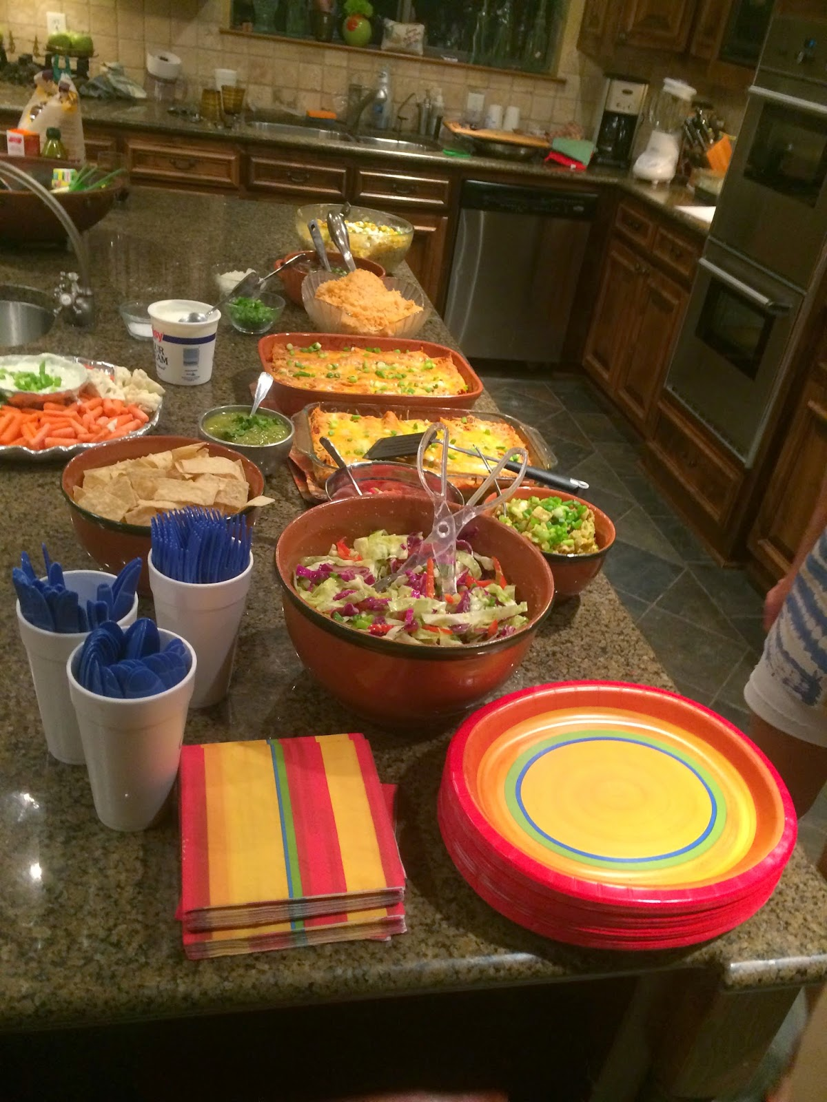 TexMex Buffet for Private Party