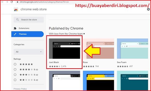 Cara mengaktifkan dark mode google chrome terbaru