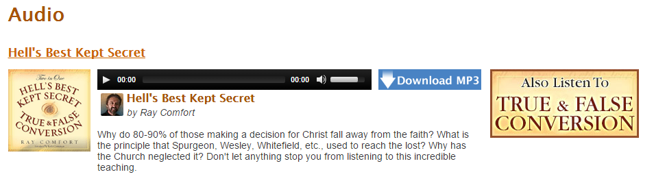 Hells Best Kept Secret / True and False Conversion. Click to listen for free!
