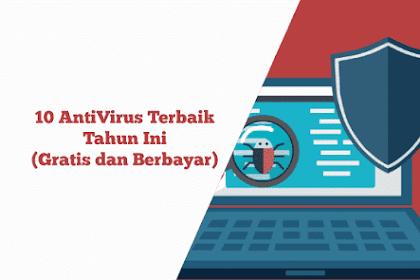 10 Antivirus Terbaik Tahun Ini (Gratis/Berbayar)