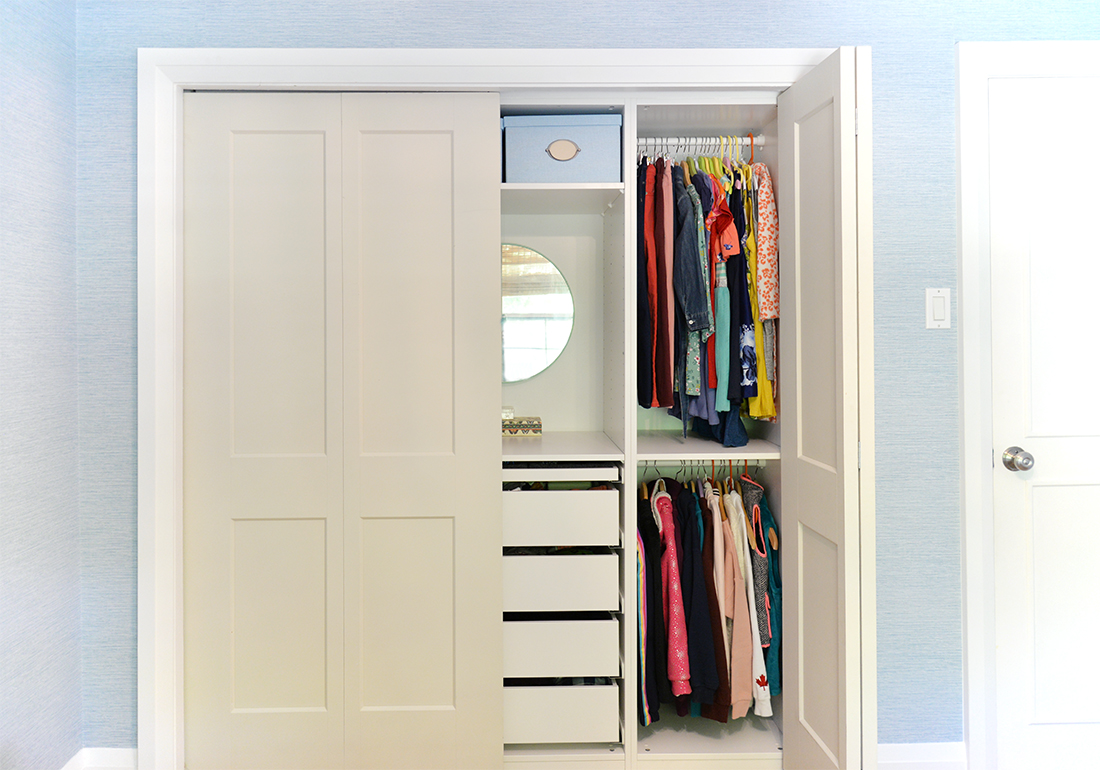 Kids Closet Organization With Ikea Pax