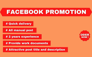 Promote any business through facebook Promition