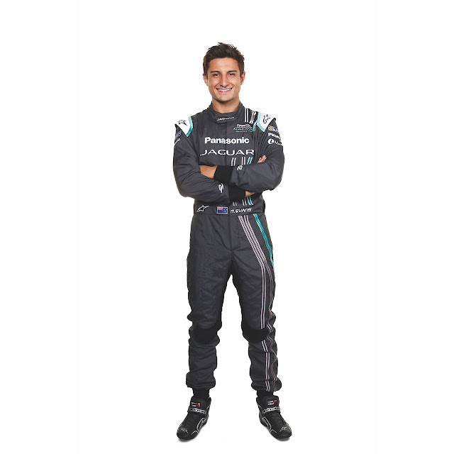 Panasonic Jaguar Racing Driver Mitch Evans