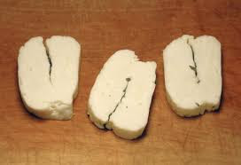 Halloumi cheese started on the Mediterranean island of Cyprus.