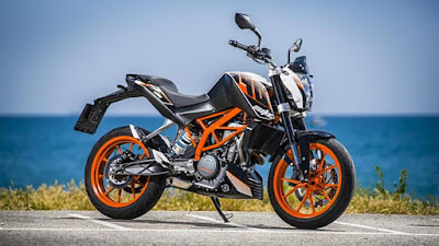 KTM 200 Duke front look pic