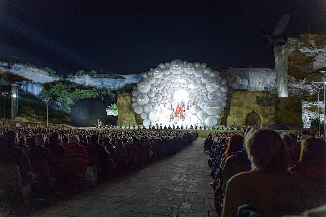 Mozart: Die Zauberflöte - Oper im Steinbruch, Austria (Photo Andreas Tischler)