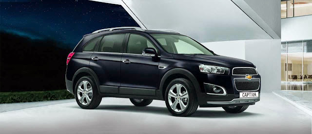 Foto All New Chevrolet Captiva