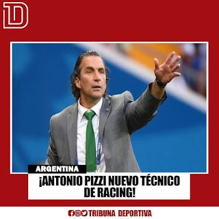 ANTONIO PIZZI NUEVO TÉCNICO DE RACING
