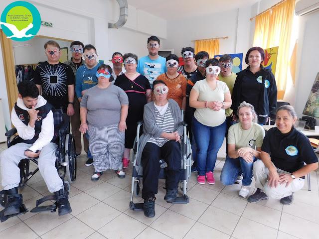 """Επίσκεψη του Φορέα Διαχείρισης στο ΚΔΑΠ - μεΑ """"Το εργαστήρι"""" του Δήμου Ηγουμενίτσας (+ΦΩΤΟ)"""