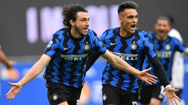 Sampdoria VS Inter Milan on K24 TV Serie A live match photo