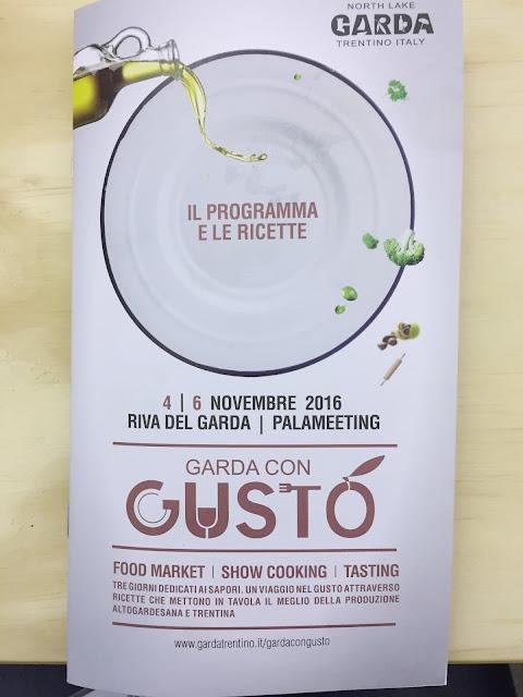 """Un week end a Riva del Garda per """"Garda con Gusto"""""""