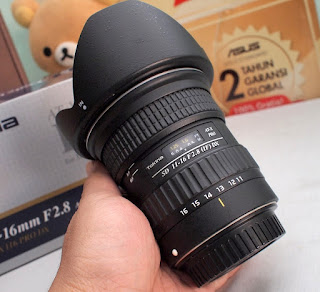 Tokina 11-16 f2.8 DX for canon