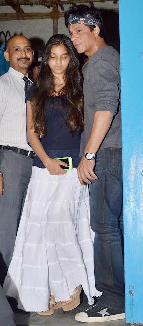 shahrukh and suhana father-daughter jodi