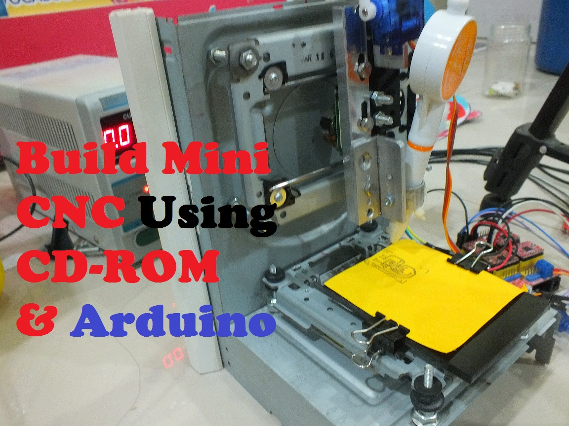 Arduinoworld build mini cnc step by using arduino