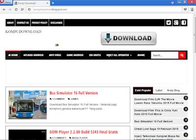 Opera Web Browser 36.0.2130.46 Terbaru