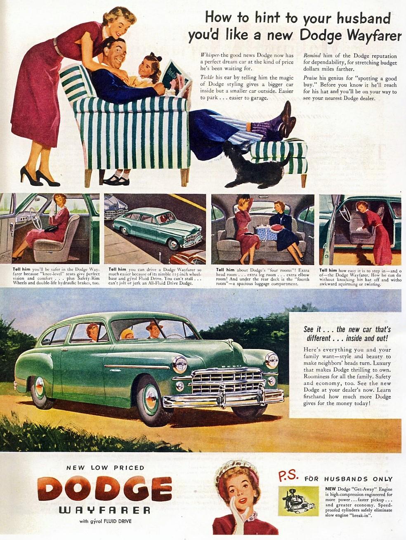 """Barry Thomas' """"Wheel to Wheel"""": July 31: Women in Car Ads"""