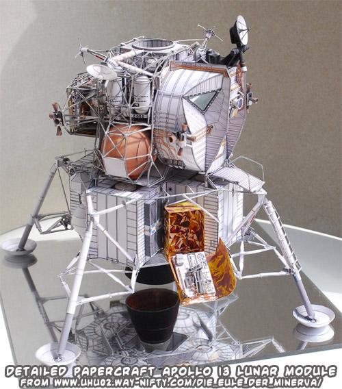 apollo spacecraft paper model - photo #11