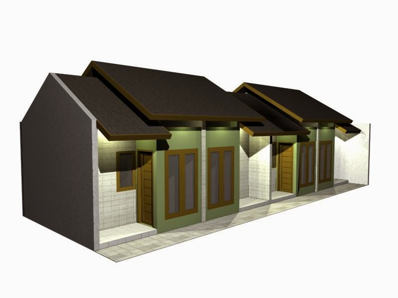 Desain Rumah Kontrakan Minimalis Paling Keren  Desain