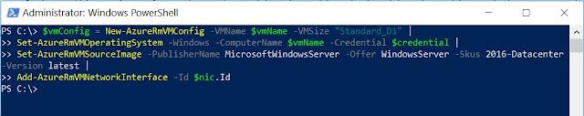 VM Config Details