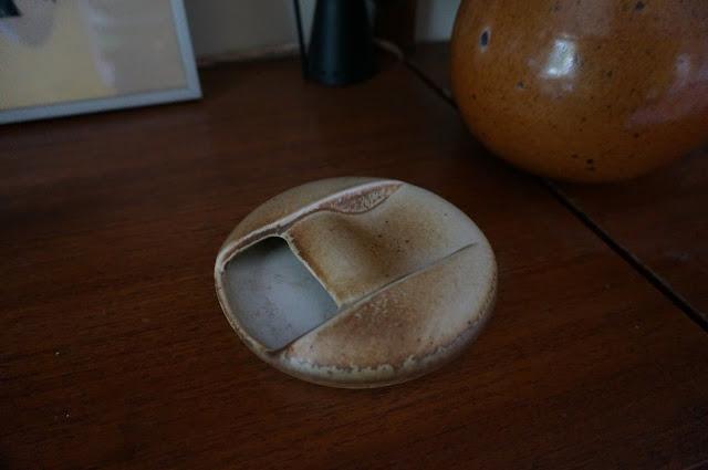 cendrier / vide poche Virebent  mohy porcelaine