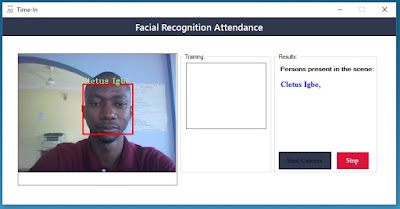 Facial Recognition Attendance System in C# Emgu CV and OpenCV