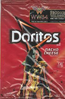Small bag of Wonder Woman 1984 Doritos Nacho Cheese