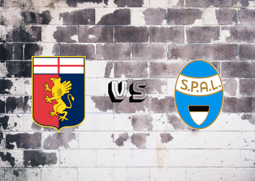 Genoa vs SPAL  Resumen