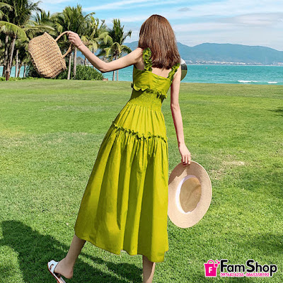 shop ban vay maxi gia re tai Trung Hoa