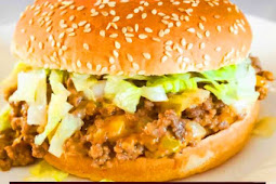 Easy Big Mac Sloppy Joes Recipe #bigmac #groundbeef #dinner #dinnerrecipe #easydinner