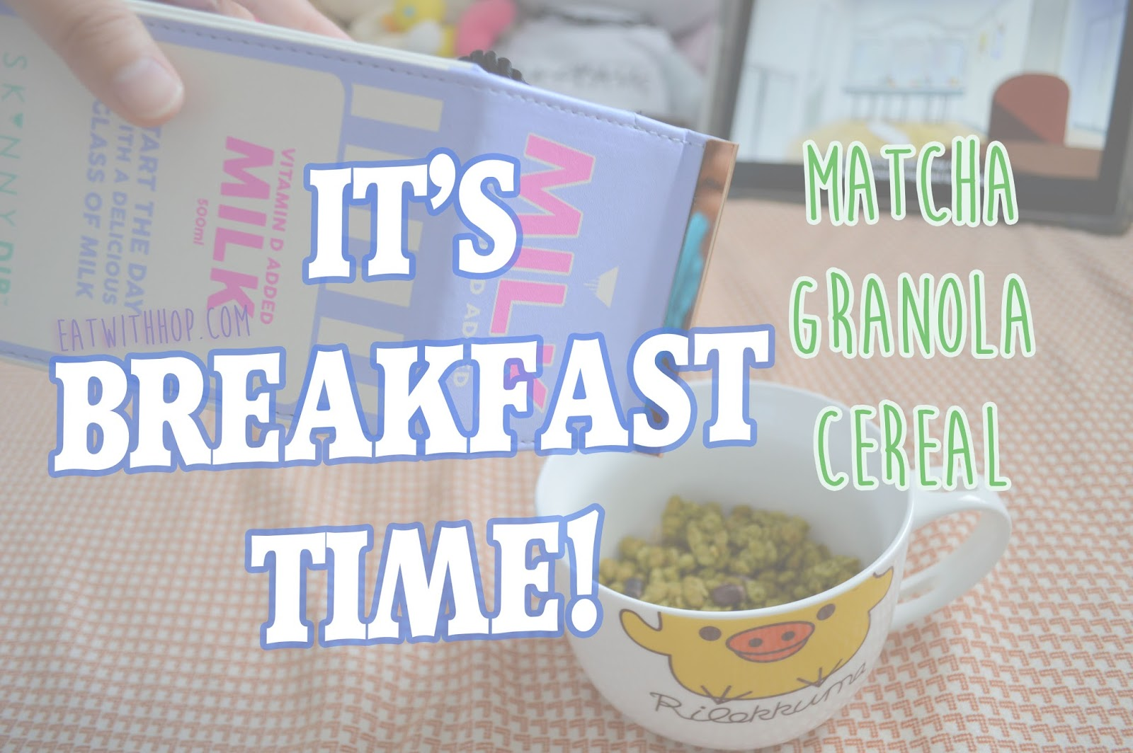 GOROTTO GRANOLA MATCHA CEREAL FOR BREAKFAST ! | CEREAL REVIEW