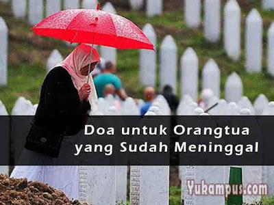 doa untuk orangtua yang meninggal