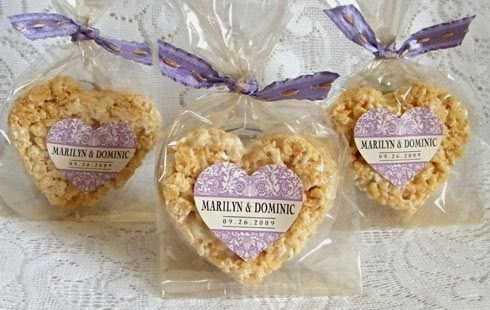 diy dessert wedding favor