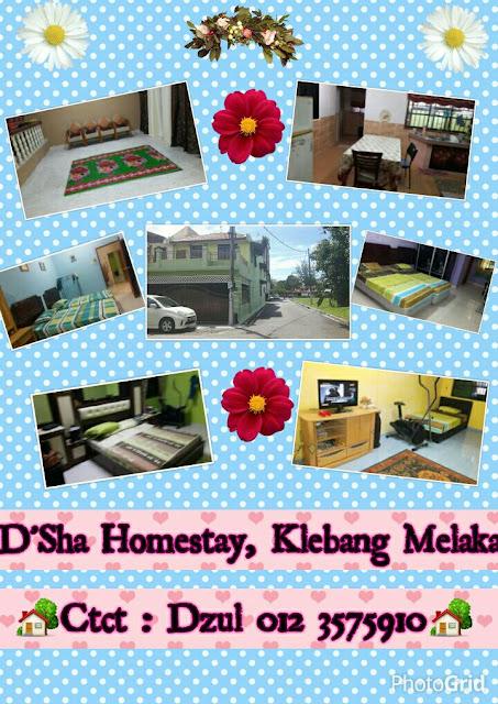 Homestay di Klebang Melaka