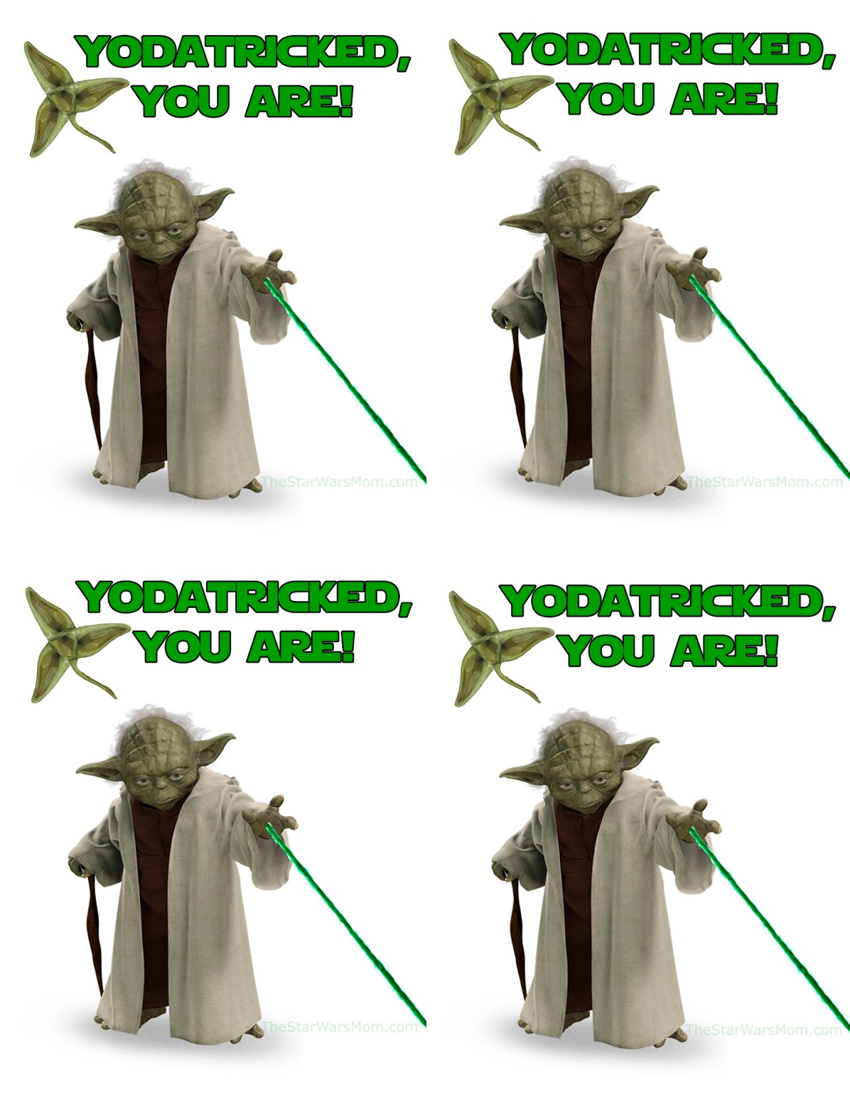 Yodatricked You Are Fun On St Yodatrick S Day Aka St