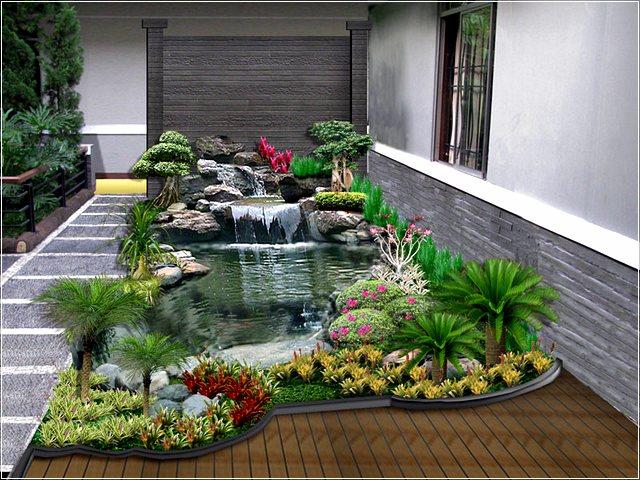 72 Gambar Taman Indah dan Asri Cocok Untuk Rumah Minimalis DISAIN
